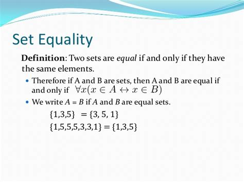 a setter definition 2 1 sets