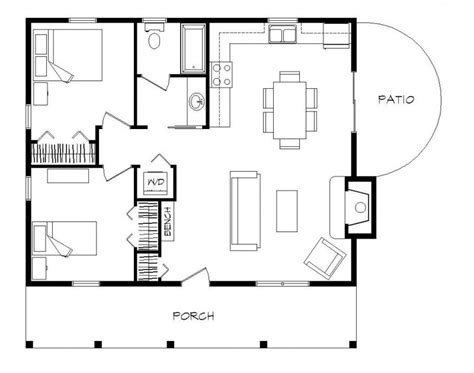 2 Bedroom Cabin Plans | 2 bedroom log cabin floor plans 2 bedroom manufactured