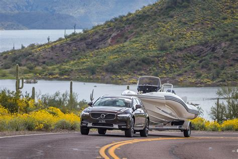 volvo boat volvo v90 cross country boat towing volvo car usa newsroom
