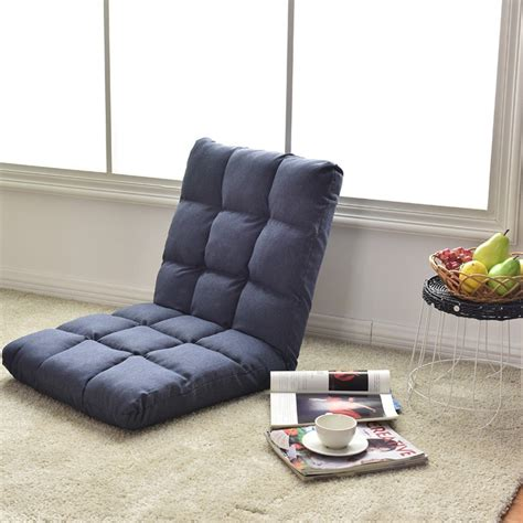 Sofa Chair by 14 Position Adjustable Cushioned Floor Gaming Sofa Chair
