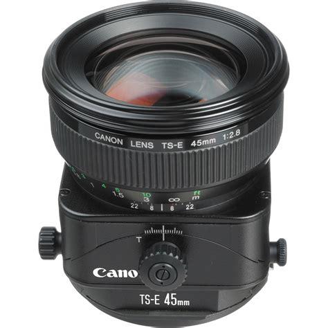 Tilt Shift Lens For Interior Photography by Canon Ts E 45mm F 2 8 Tilt Shift Lens 2536a004 B H Photo