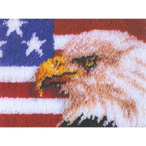 rug hook kit caron wonderart 15x20 latch hook kit american eagle caron http www dp b004onighs