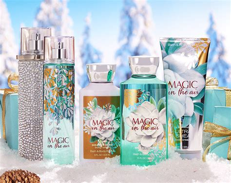 Bath And Works Shimmer Mist Magic In The Air bath works magic in the air fragrance collection