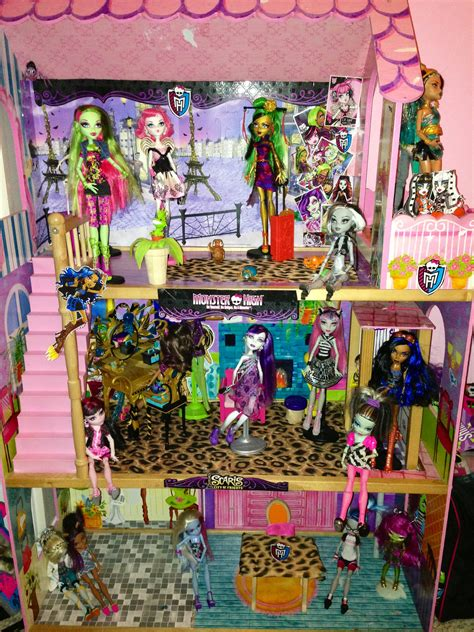 monster high houses monster high doll house www imgkid com the image kid has it