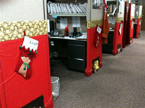 christmas decorating cubicles at work decorated all my coworkers cubicles as a work ideas cubicle