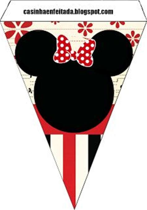 Banner Hbd Minnie Pita kit minnie mouse and banners on