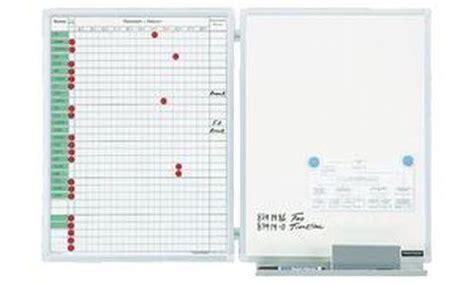 tableau pour bureau magnetoplan tableau planning pour absence et presence