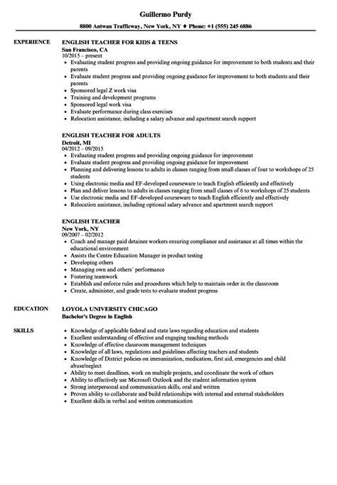 45 best teacher resumes sample teaching resume templates for