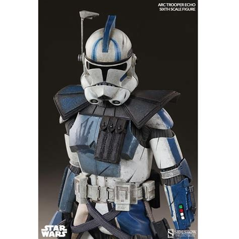 clone trooper wall display armor monkey depot sideshow star wars arc clone trooper echo