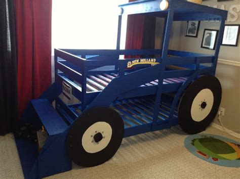 tractor bunk beds diy tractor bunk bed for boys