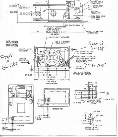 6 5 onan rv generator wiring diagram wiring diagram