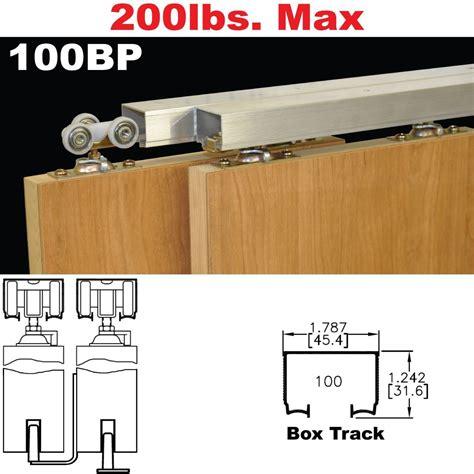 Johnson Hardware Bypass Door by Johnson Hardware 100bp Pocket Door Hardware