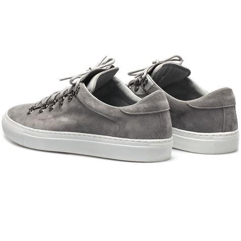 Light Grey Sneakers diemme light grey suede leather marostica low sneakers in