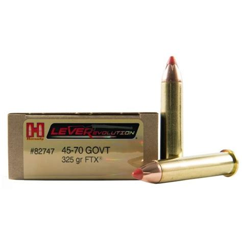 buy hornady leverevolution 45 70 government 20rd ammos at