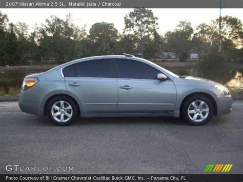 2007 Nissan Altima 2 5 Sl by Metallic Jade 2007 Nissan Altima 2 5 Sl Charcoal