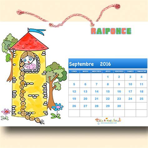 Calendrier Pour Enfant Calendrier 2016 Les Contes 224 Colorier Calendrier T 234 Te 224