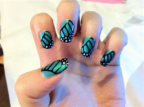 Butterfly Nail Design