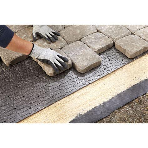 concrete base floor l shop brock 36 in l x 24 in w interlocking paver base panel