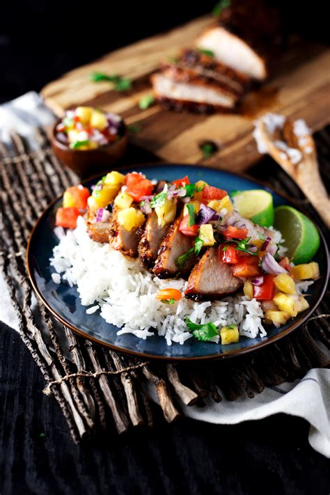 Pantry Recipe Finder by Teriyaki Pork With Pineapple Salsa A Simple Pantry
