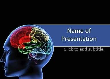 free brain powerpoint templates brain powerpoint template template idea intended for