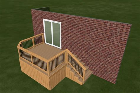 Diy Deck Plans by Small Diy Deck Plans