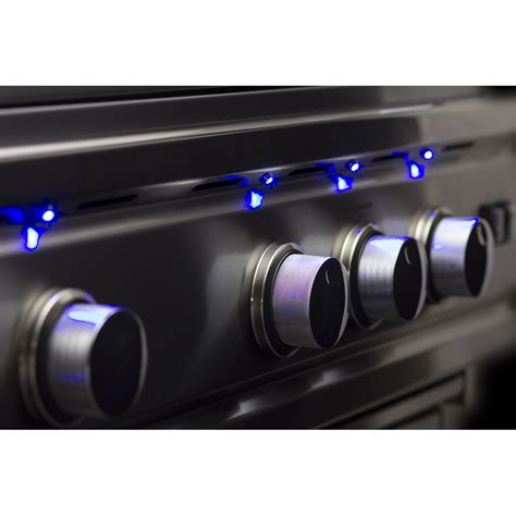 led bbq grill lights summerset trld 32 quot built in grill deluxe stainless steel