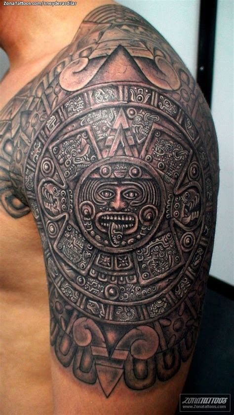 30 Latest Tribal Mexican Tattoos Mexican Aztec Tattoos Designs