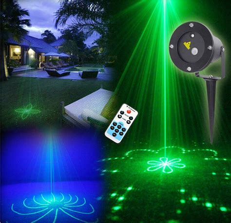 Aliexpress Com Buy Remote Green 20 Patterns Led Blue Lights Projector Outdoor