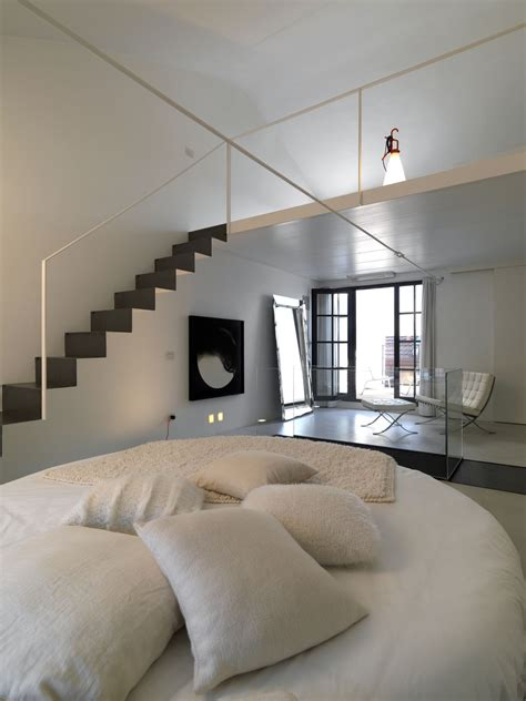 Loft Bedroom Decor by Interior Loft Design Modern Decobizz
