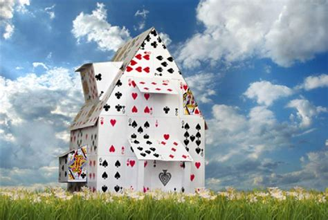 how to make a house out of cards arbetsf 246 rmedlingen v 196 rstingmyndigheten ett korthus p 229