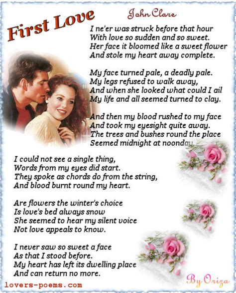 themes in first love by john clare first love by john clare oriza net portal lovers