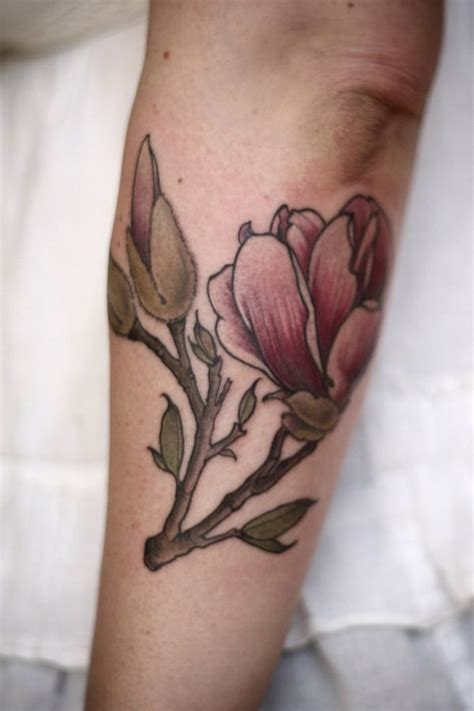 tattoo modern gallery modern style colored arm tattoo of big flower