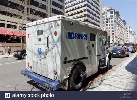 brinks armored trucks brinks armored truck stock photo royalty free image
