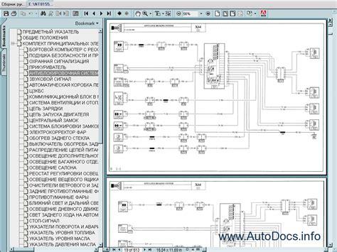renault wiring diagrams 1998 2000 repair manual order