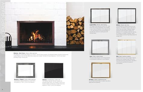 design specialties glass doors for masonry fireplaces