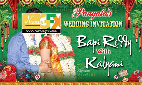 Wedding Banners In Telugu by Pics For Gt Telugu Wedding Banner Designs