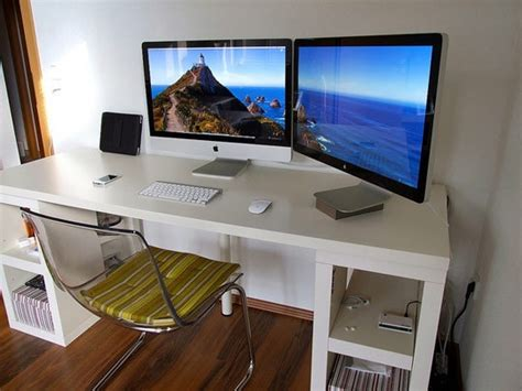 home design programs for imac what are the pros and cons between 1 large monitor 30