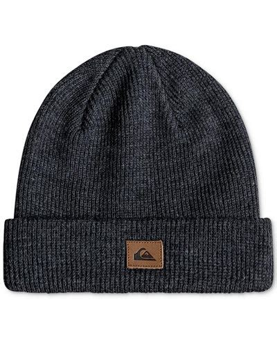 Quicksilver Navy Knite Blasster quiksilver s performed ribbed knit beanie hats gloves scarves macy s