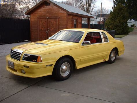 how to learn about cars 1983 ford thunderbird electronic valve timing tweetybird83 1983 ford thunderbird specs photos modification info at cardomain
