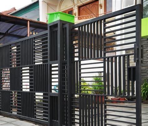 desain gapura stainless gambar desain gerbang pagar minimalis gontoh