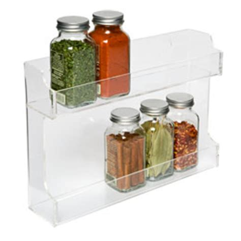 Spice Rack Container Store by Acrylic Spice Rack The Container Store