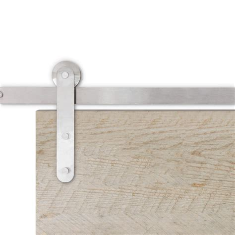 Hardware For Sliding Barn Doors Flat Track Apex Stainless Steel Flat Track Hardware Barndoorhardware