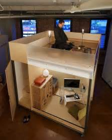 tiny zen living 8 foot square mobile cube combines office