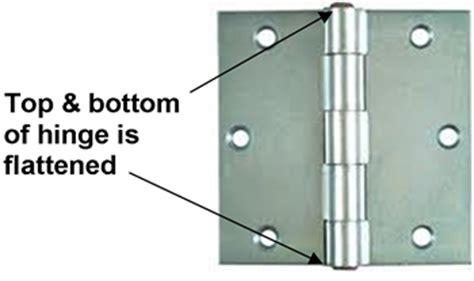 Exterior Door Hinges Security How To Remove The Pin From A Door Hinge 30 000 Garage Door Repair