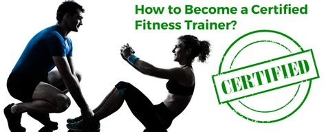 how to become a certified trainer how to become a certified fitness trainer in india