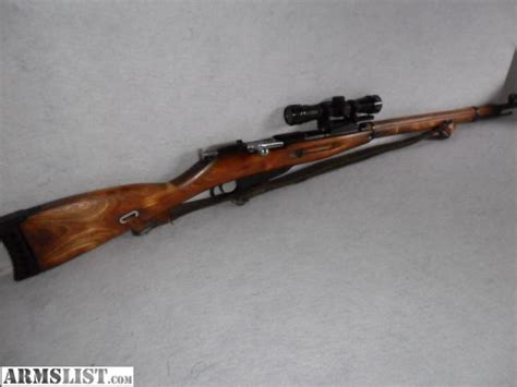 Sale Gunting armslist for sale 7 62x54 rifle