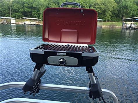 pontoon boat accessories grill cuisinart grill modified for pontoon boat with arnall s