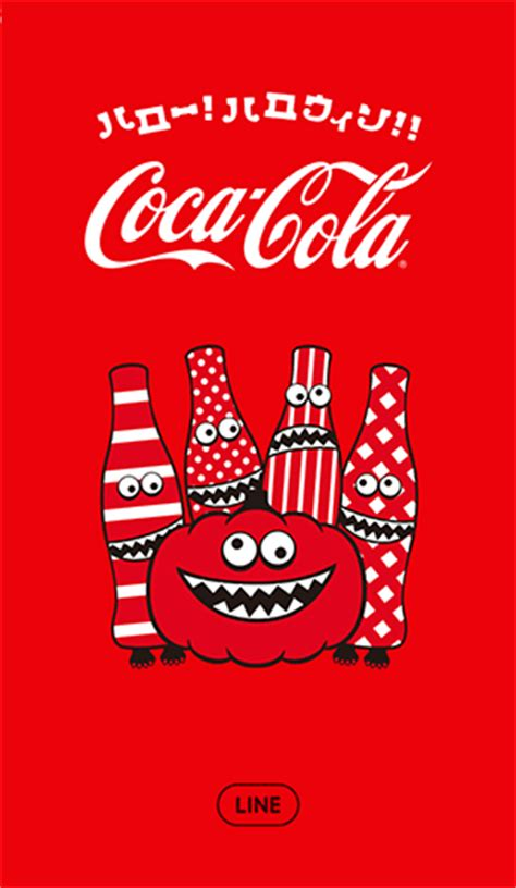 theme line coca cola free list line theme coca cola hello halloween android