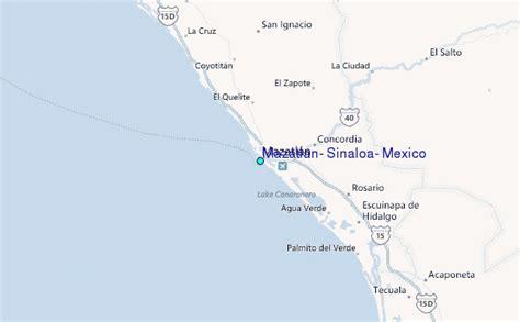 map of mexico sinaloa mazatlan sinaloa mexico tide station location guide