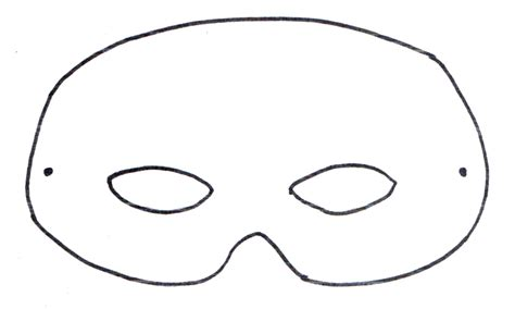 templates for animal masks basic mask template alter for different animals